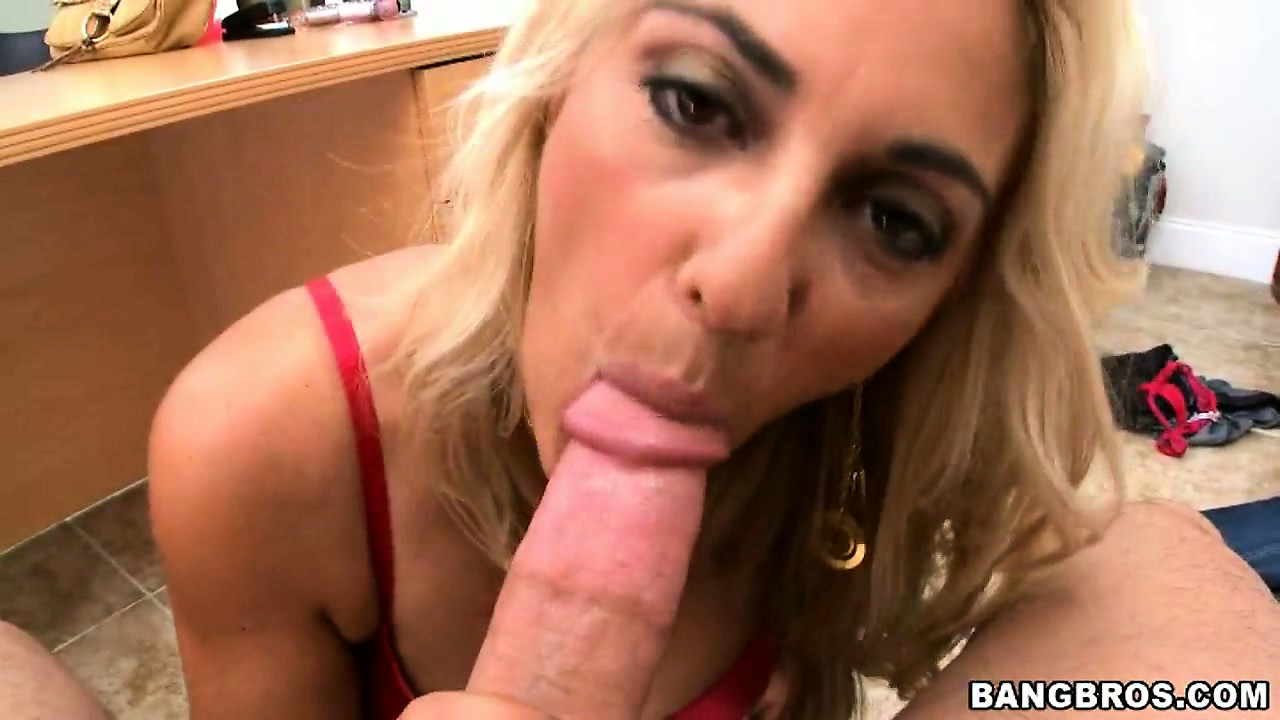 Porn Tube of She Slurps Up His Rod And Then Takes It In Her Trimmed Pussy