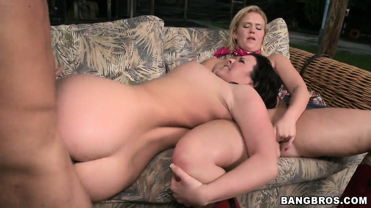 Porn Tube of These Hot Farm Babes Blow And Take Turns Getting Their Cunts Nailed