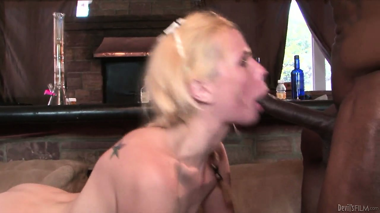 Sex Movie of Gangbang Bitch Gets Drilled By Black Cock And Gets A Tasty Load