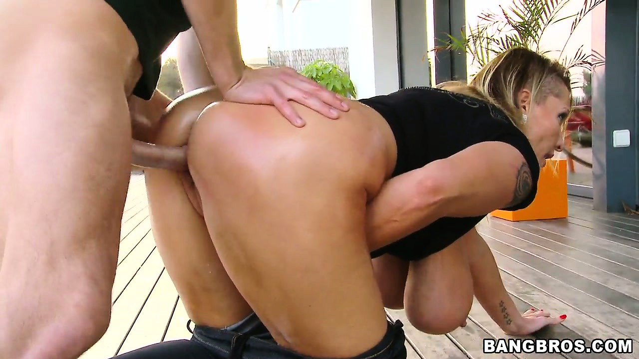Porno Video of She Gives Deep Throat, Titty Fucks And Bends Over To Get Drilled