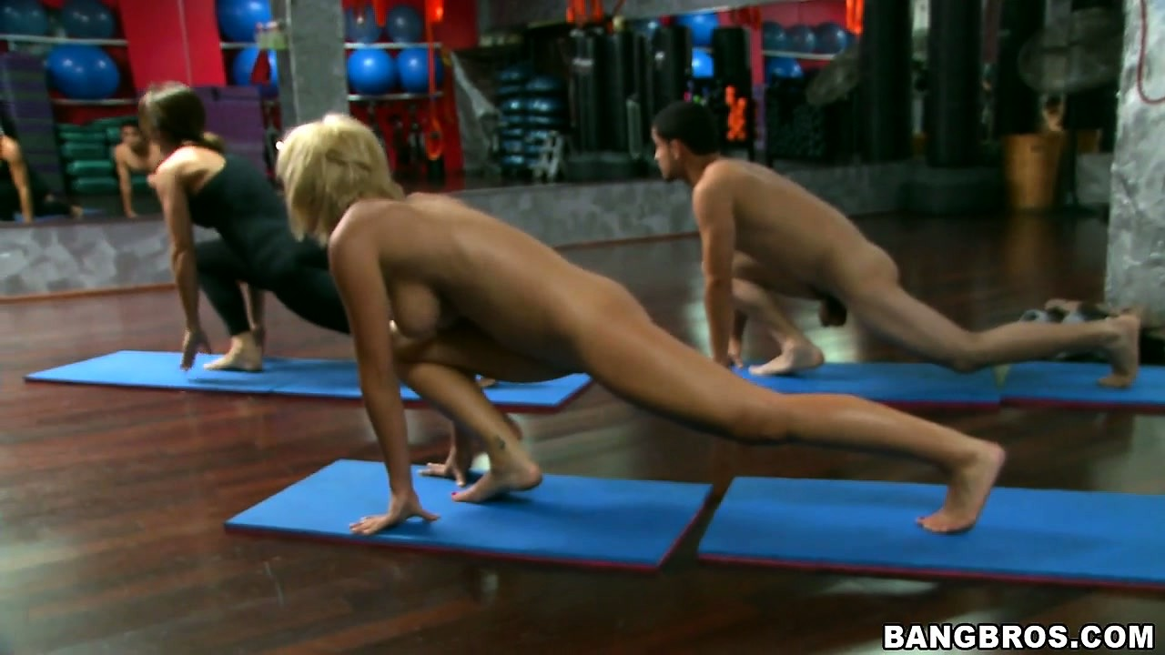 Porno Video of Horny Bitch With Big Tits Lexi Swallow Doing Yoga Completely Naked
