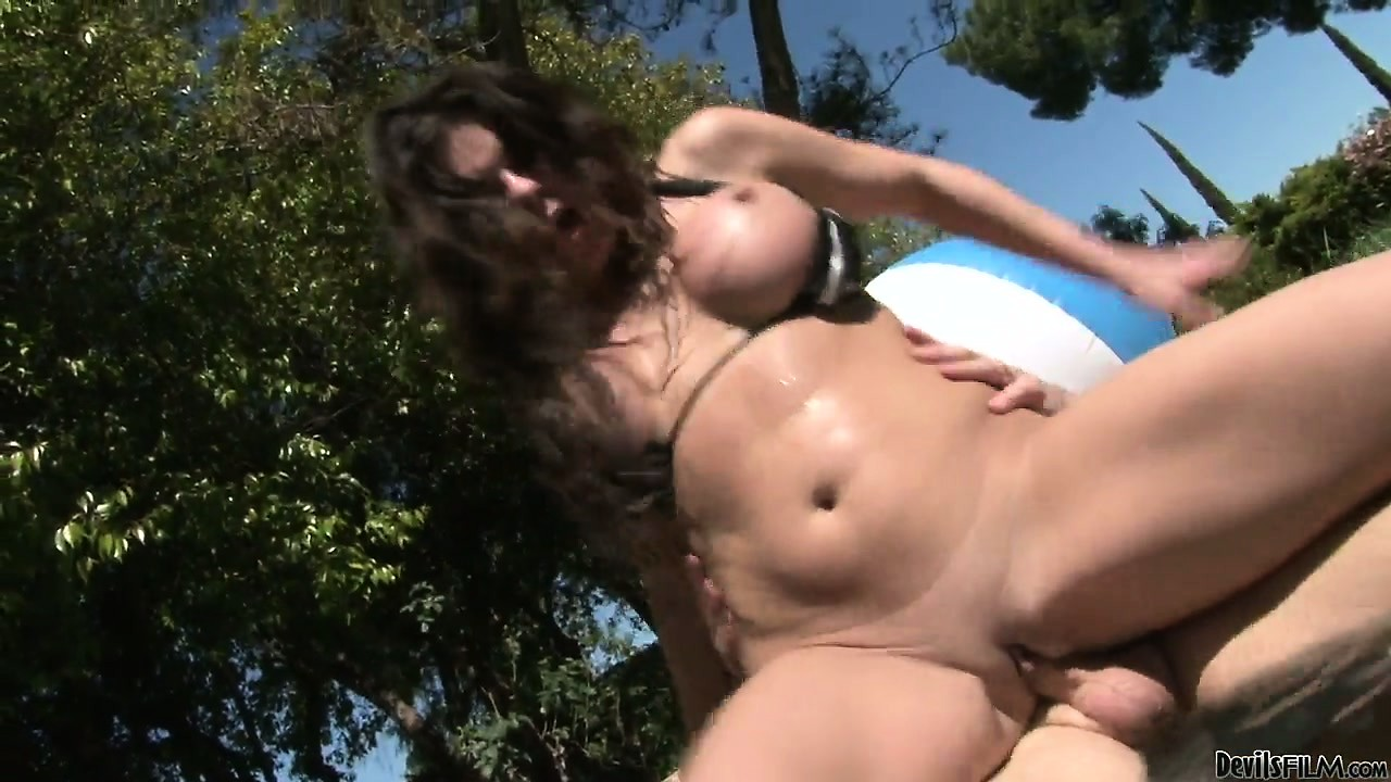 Porno Video of The Pool Is The Perfect Place For His Cock To Take A Dip In Her Pussy Pond