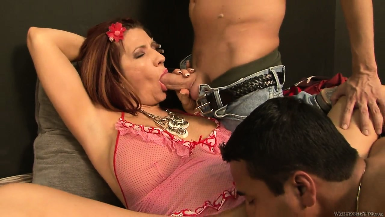 Porn Tube of Bangin' Piece Of Milf Ass Gets Ready To Get Her Holes Gangbanged