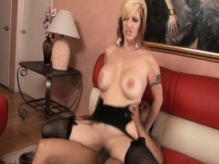 busty mature brittany blaze gets her twat drilled hard by a black stud