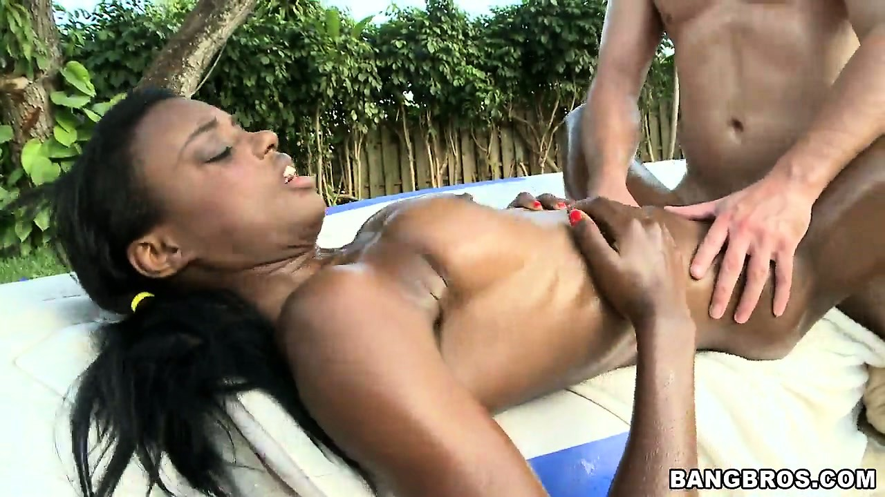 Porn Tube of Skinny Ebony Girl Catches A Big Facial After Intense Shagging