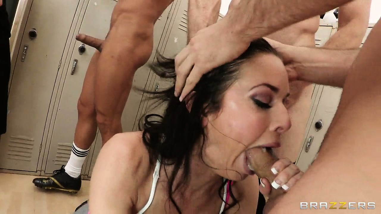 Porno Video of This Gangbang Party In The Locker Room Will Be A Hardcore One