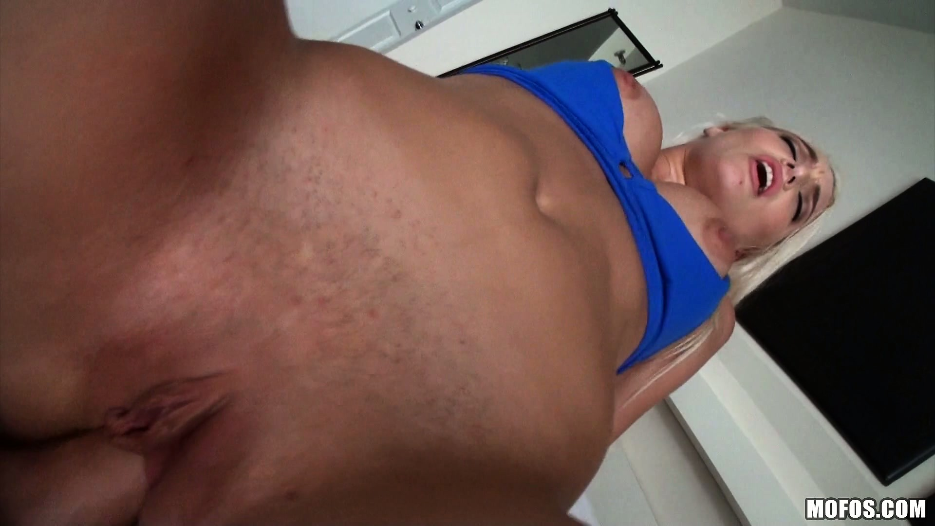 Porno Video of Busty Blonde Yoga Teacher Gets Paid With A Hot Fucking After Workout